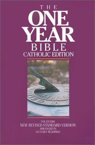 9780879732325: Bible: One Year Bible - Catholic Edition- The Entire New Revised Standard Ve rsion Arranged in 365 Daily Readings