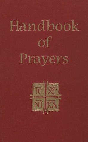 9780879735791: Handbook of Prayers