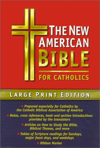 Catholic Bible-Nab-Large Print
