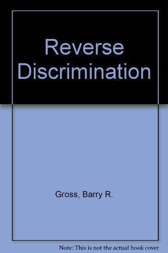 9780879750831: Reverse Discrimination