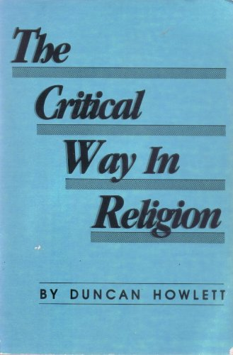 9780879751333: THE CRITICAL WAY IN RELIGION Testing and Questing