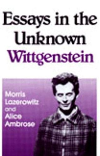 9780879752347: Essays In The Unknown Wittgenstein