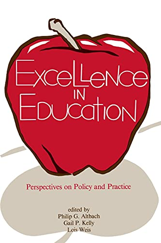 9780879753016: Excellence in Education (Frontiers in Education)