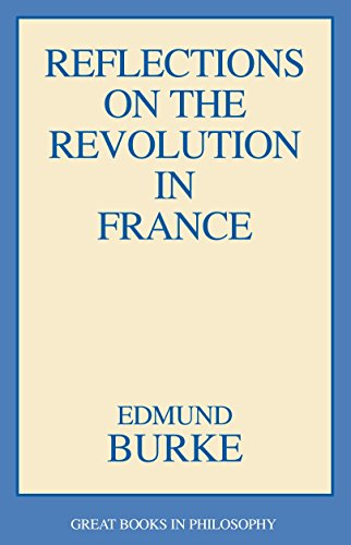 9780879754112: Reflections on the Revolution in France (Great Books in Philosophy)