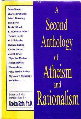 9780879754150: A Second Anthology of Atheism and Rationalism (Skeptics Bookshelf)