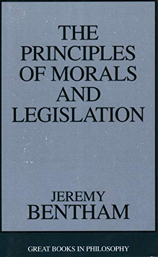 9780879754341: Principles of Morals and Legislation (Great Books in Philosophy)