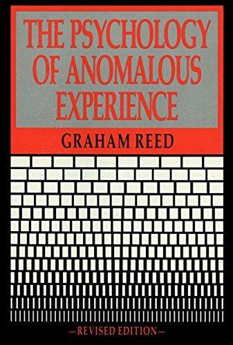 9780879754358: The Psychology of Anomalous Experience (Psychology Series)