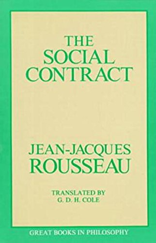 The Social Contract (Great Books in Philosophy): Jean Jacques Rousseau;