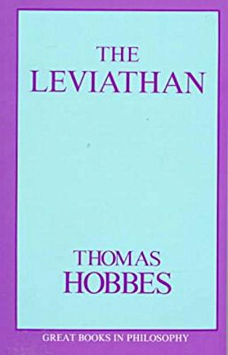 The Leviathan (Great Books in Philosophy): Thomas Hobbes