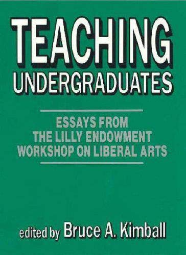 9780879754891: Teaching Undergraduates (Frontiers of Education)