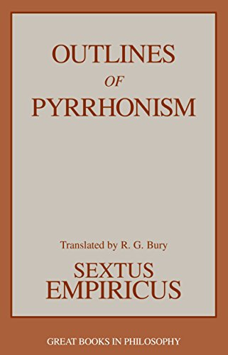 9780879755973: Outlines of Pyrrhonism (Great Books in Philosophy)