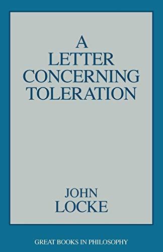 9780879755980: A Letter Concerning Toleration