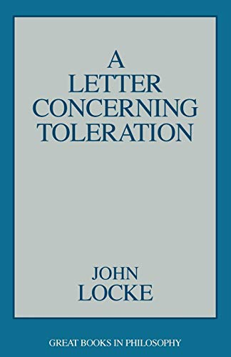 9780879755980: A Letter Concerning Toleration (Great Books in Philosophy)