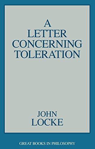 Letter Concerning Toleration (Great Books in Philosophy): John Locke; Editor-Robert