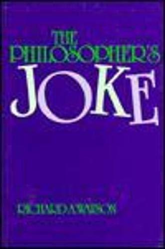 9780879756017: The Philosopher's Joke (Frontiers of Philosophy)