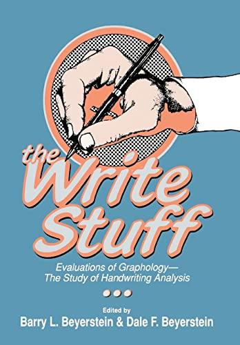 9780879756123: The Write Stuff