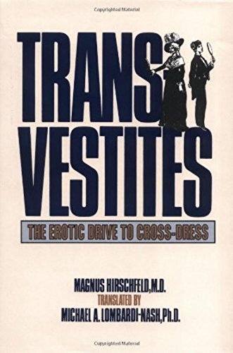 9780879756659: Transvestites (New Concepts in Human Sexuality)