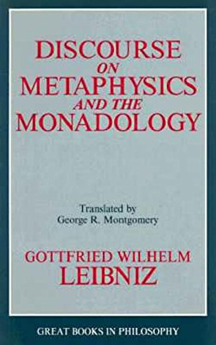 9780879757755: Discourse on Metaphysics and the Monadology (Great Books in Philosophy)