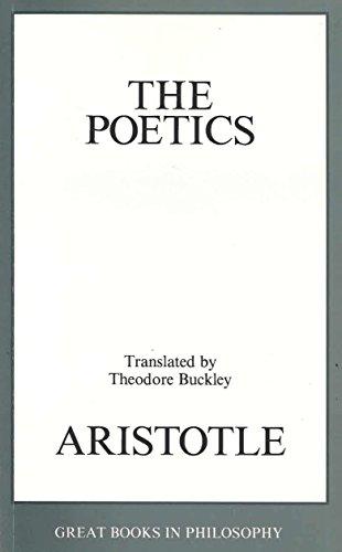9780879757762: The Poetics (Great Books in Philosophy)
