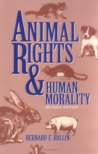 9780879757892: Animal Rights & Human Morality