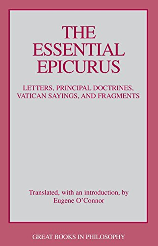 9780879758103: The Essential Epicurus (Great Books in Philosophy)