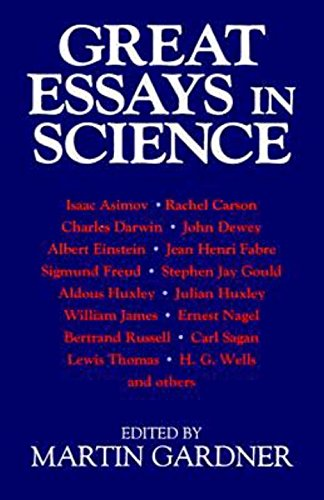 9780879758530: Great Essays in Science