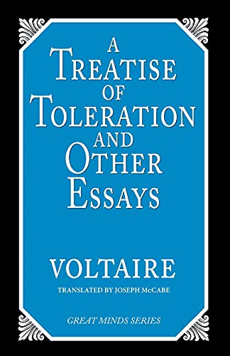 9780879758813: A Treatise on Toleration and Other Essays (Great Minds)