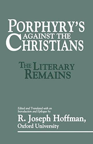 9780879758899: Porphyry's Against the Christians