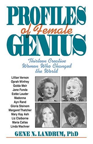Profiles of Female Genius: Landrum, Gene N.