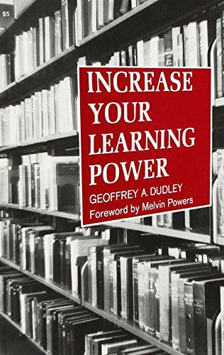 9780879800857: Increase Your Learning Power
