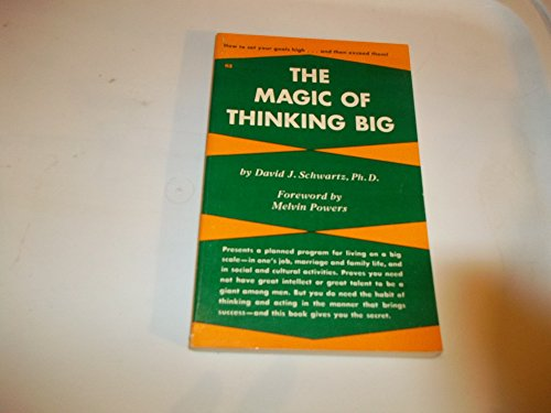9780879800925: The Magic of Thinking Big