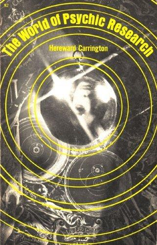 World of Psychic Research: Carrington, Hereward