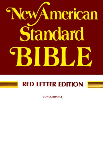 9780879810979: Holy Bible New American Standard: Red Letter Edition, Paragraphed