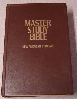 New American Standard Master Study Bible/Brown/4610-77