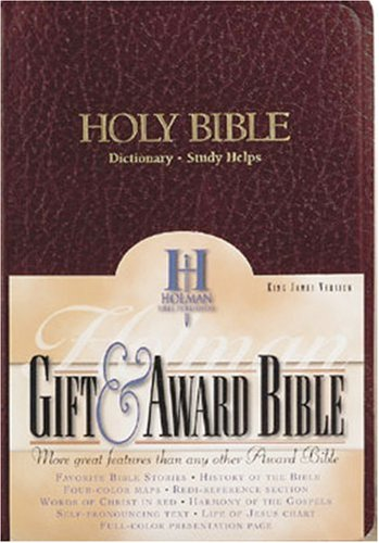 9780879814632: King James Version Gift and Award Burgundy Imitation Leather/463404
