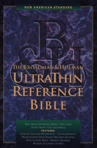 9780879819200: Nasb Ultrathin Reference Bible (American Standard Bible)