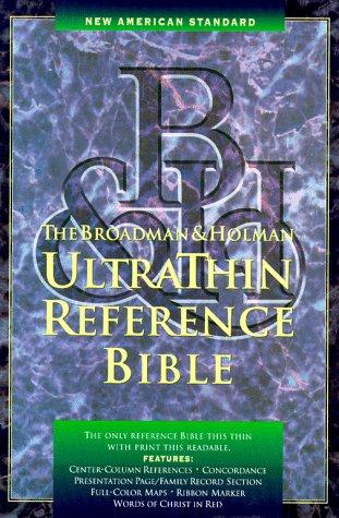 9780879819729: Nasb Ultrathin Reference Bible (American Standard Bible)