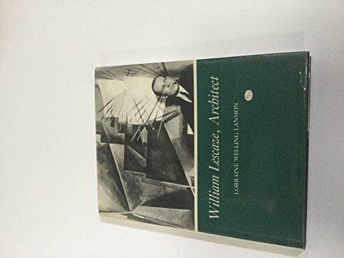 William Lescaze, Architect: Lescaze. LANMON Lorraine Welling