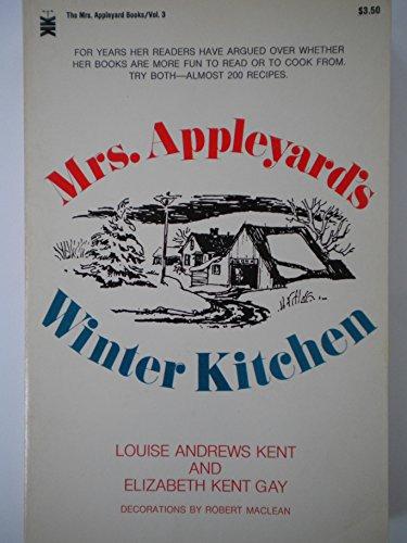 9780879830946: Mrs. Appleyard's Winter Kitchen