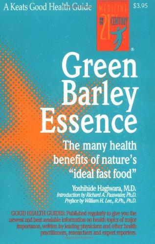 9780879834234: Green Barley Essence