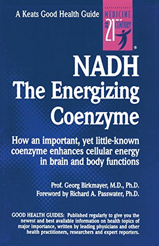 9780879838621: Nadh: The Energizing Coenzyme (Keats Good Health Guide)