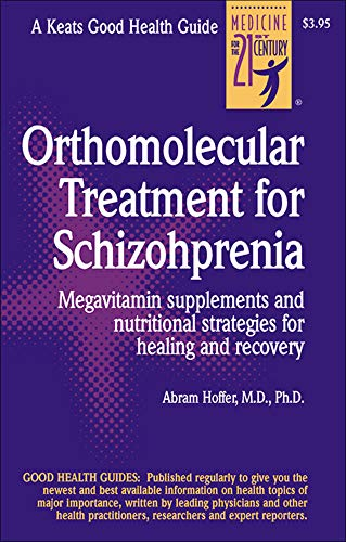 9780879839109: Orthomolecular Treatment for Schizophrenia