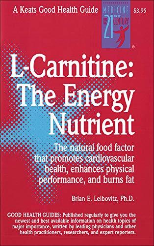 9780879839628: L-Carnitine (Good Health Guides)