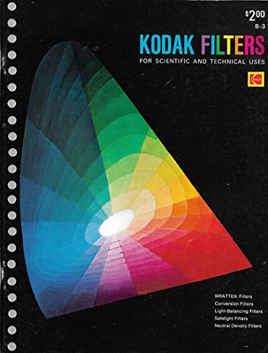 9780879850296: Kodak Filters for Scientific and Technical Uses