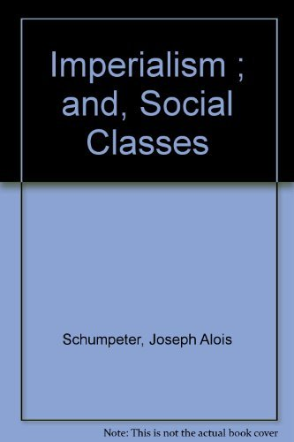 9780879912567: Imperialism and Social Classes