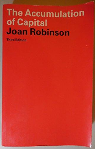 the accumulation of capital robinson joan