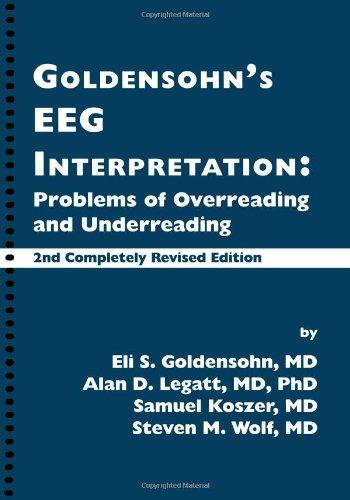 9780879930868: Goldensohn's EEG Interpretation: Problems of Overreading and Underreading