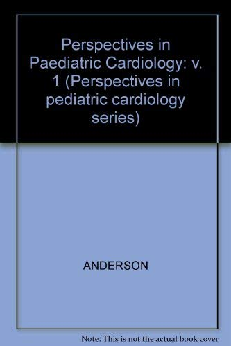 9780879933111: 1: PERSPECT PEDIATRIC CARDIOLOGY (Perspectives in pediatric cardiology series)