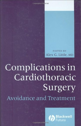 9780879934279: Complications in Cardiothoracic Surgery: Avoidance and Treatment