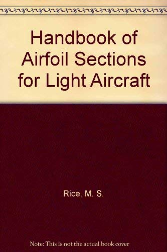 9780879940157: Handbook of Airfoil Sections for Light Aircraft